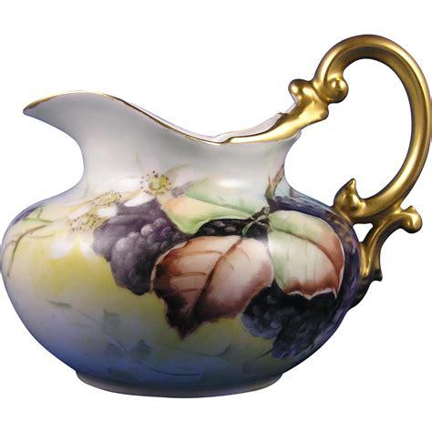 Payung Terbalik Motif Flower Handle C No 1 tressemann vogt t v limoges blackberry motif pitcher signed quot c f from darkflowers on ruby