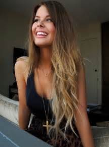 pretty hair colors pretty brown to ombre hair color hairstyles weekly