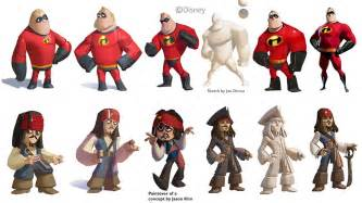All The Disney Infinity Characters How Disney Got All Its Characters Looking The Same