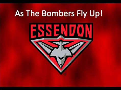 theme songs afl hd official essendon bombers theme song with lyrics