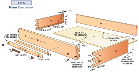 Dresser Drawer Construction by How To Make A Greene Greene Style Table Diy Plans