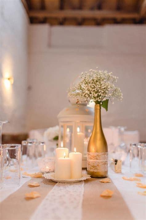 Tischdekoration Goldene Hochzeit by Tischdeko Hochzeit Naturlook Nzcen