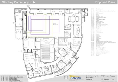 ground plan plans stirchley baths
