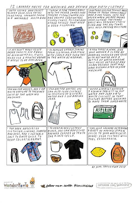 12 laundry hacks for washing drying your dirty clothes