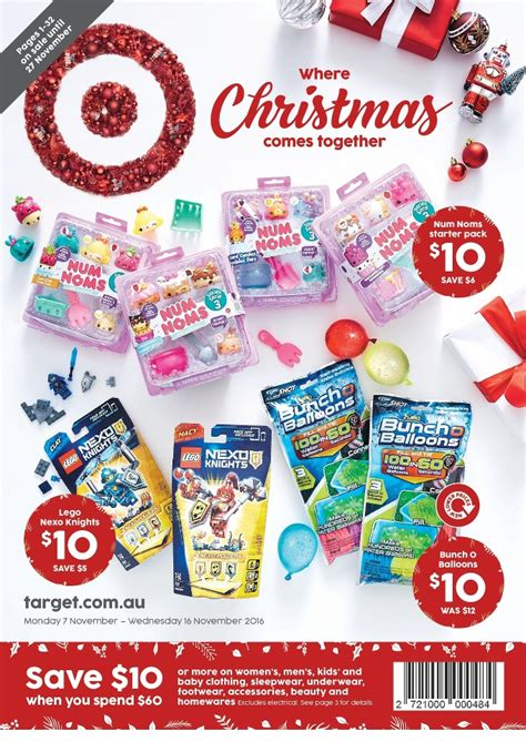 target christmas catalogue toy gifts november 2016
