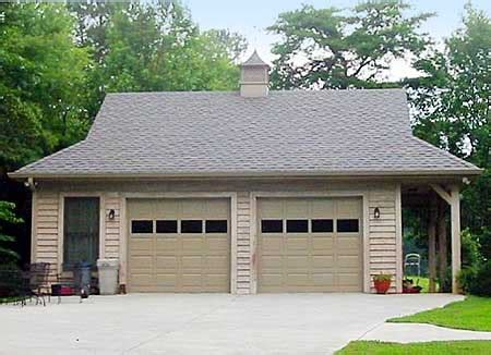 small homes with 2 car garage on foundation 2 car garage with side porch 58548sv architectural