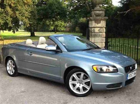 electric and cars manual 2013 volvo c70 on board diagnostic system volvo 2007 c70 se 2 4 convertible full service history car for sale