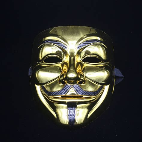 V In The Silver Mask free ems100 pcs theme v for vendetta mask
