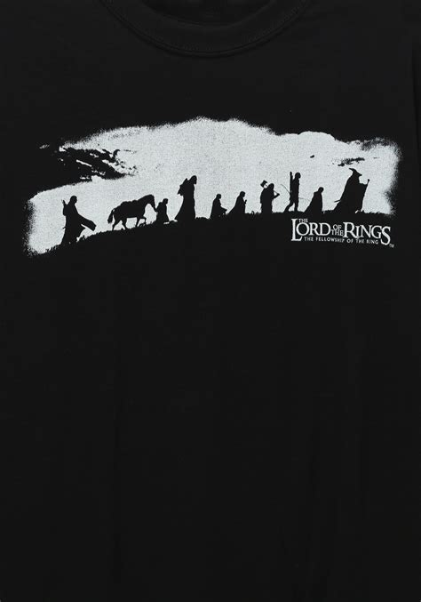 katso the lord of the rings the fellowship of the ring koko elokuva lord of the rings the fellowship t shirt