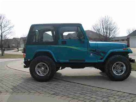 jeep wrangler cummins find used cummins turbo diesel 1994 jeep wrangler yj in