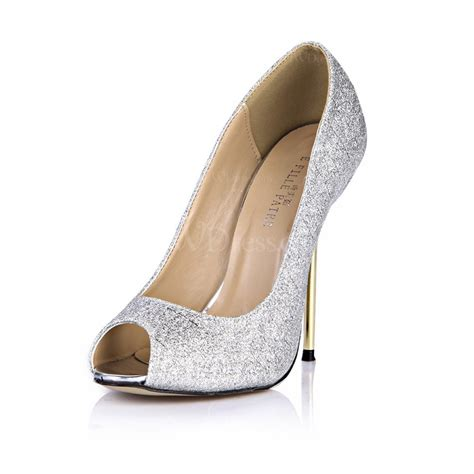 silver stiletto heel wedding shoes s sparkling