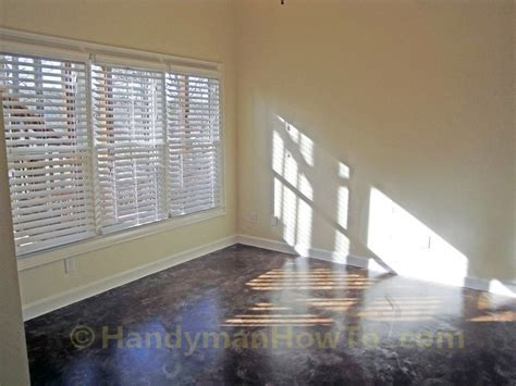 How to Install Faux Wood Window Blinds   HandymanHowto.com