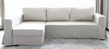 Diy Slipcover Couch Loose Fit Linen Manstad Sofa Slipcovers Now Available