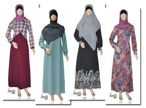 Gamis Terbaru Haifa Koleksi Gamis Muslimah Haifa Terbaru Di Toko