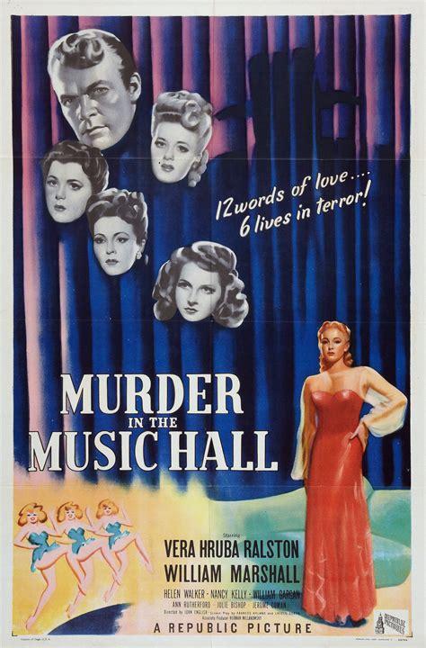 filme schauen sleuth murder in the music hall 1946 kostenlos online anschauen