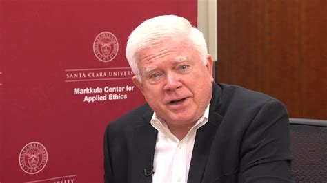 Santa Clara Mba Transcript Request by Ethics In Silicon Valley Kirk Hanson Interviews Mike