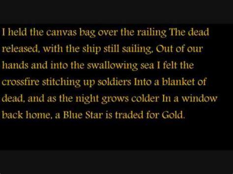 you should ve seen it in color lyrics the war was in color carbon leaf last fm