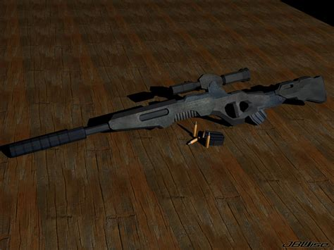 Handmade Rifle - lbc03 custom sniper rifle variant early image