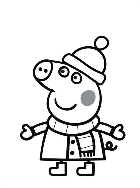 imagenes para pintar online peppa pig para colorear pintar e imprimir