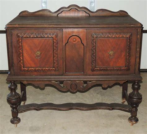 jacobean renaissance revival walnut sideboard buffet