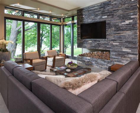 modern family rooms modern organic home in lake calhoun minneapolis