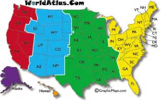 map of time zones in united states september 2011 maps of the united states