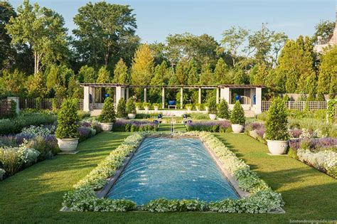 Landscape Architect Rhode Island Glorious Gardens The Blue Garden Newport Boston Design