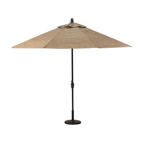 Lowes Umbrella Patio Allen Roth Tenbrook Sling Fabric Patio Umbrella From Lowes