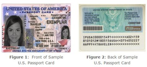 usa id card template u s passport card vs book cruise critic