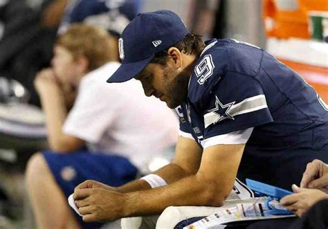 players bench dallas down goes romo down goes romo down goes romo down goes