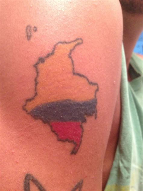 colombian tattoo designs map mios