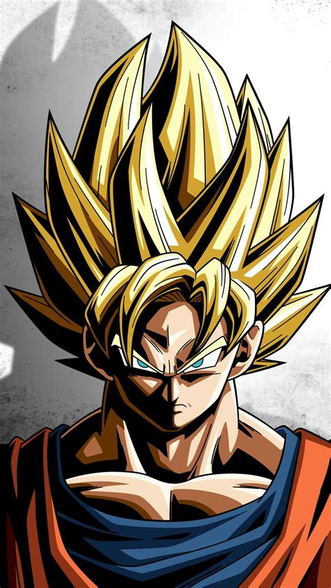 Dragon Ball Z Wallpaper Portrait | dragon ball z son goku portrait display wallpaper
