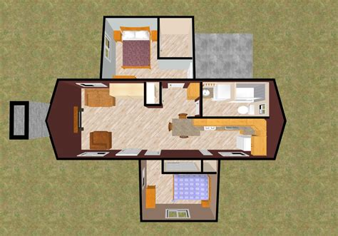 tiny house 2 bedroom growing small house plans cozy home plans
