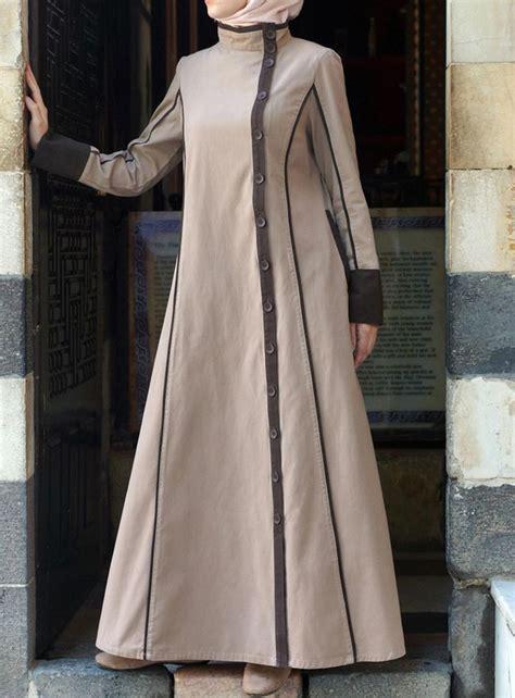 Abaya Dress Kaftan Busana Muslimah Mf 37 yusra jilbab editor clothing and islamic