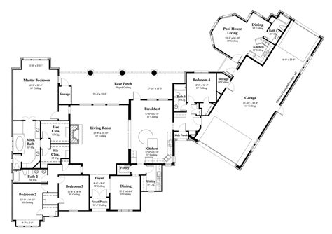 country house plan country house plan