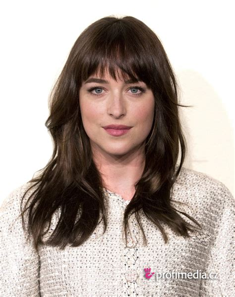 Frisuren Ausprobieren by Dakota Johnson Frisur Zum Ausprobieren In Efrisuren
