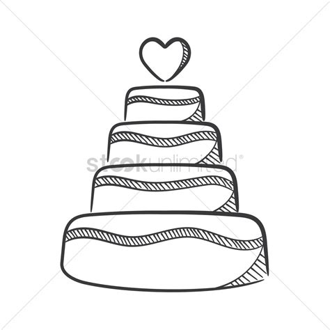 Wedding Clip Ks2 wedding cake vector image 1637213 stockunlimited