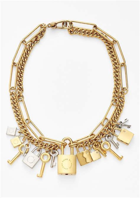 Marc Padlock Key Necklace by Marc By Marc Marc By Marc Locked In Orbit
