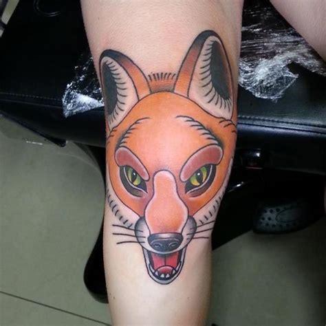tattoo wolf new school new school leg wolf tattoo by spilled ink tattoo