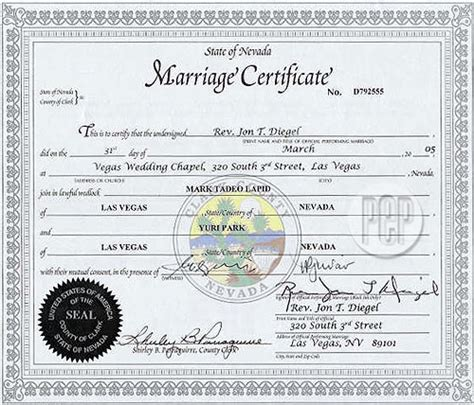 Washoe County Divorce Records 88 Las Vegas Wedding License Records Clark County