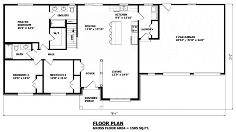 bungalow house floor plans house plans home hardware canada house plans canada