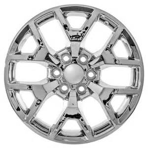 22 Inch Chrome Truck Wheels 22 Inch Gmc Truck Yukon Denali Chrome Wheels