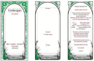 download desain undangan pernikahan elegan cdr download undangan gratis desain undangan pernikahan