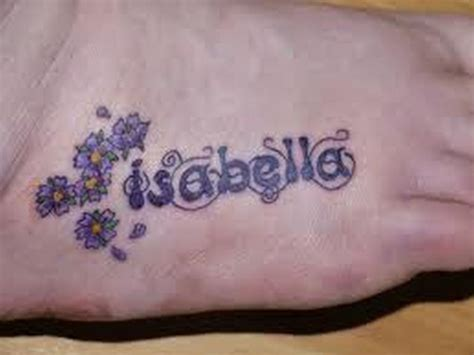 name tattoo designs on foot check out interesting name tattoos ideas