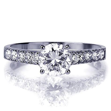 Preiswerte Verlobungsringe by Kleine Sch 228 Tze Verlobungsring 14 Karat Wei 223 Gold