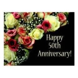 happy 50th anniversary cards zazzle