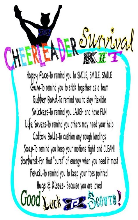 Closing Letter With Cheers 25 Best Ideas About Survival Kit On Comp Team Gifts And
