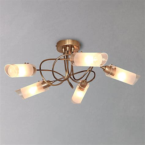 lewis limbo semi flush ceiling light 5 light