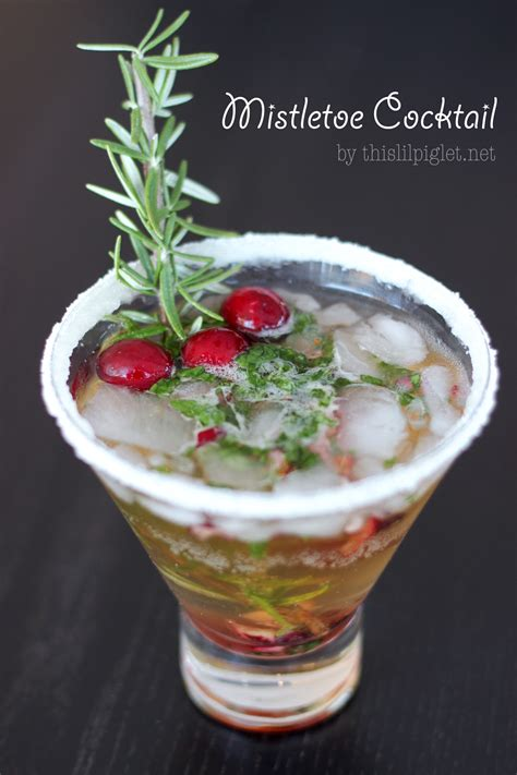 martini mistletoe mistletoe mint cookies recipe dishmaps