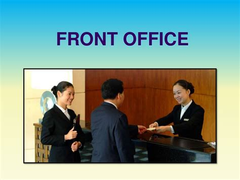 front office layout ppt hotel front office department